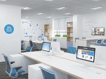 Объект поставки материалов АлтСтрой - офис Росатом