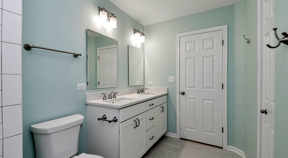 покраска ванной комнаты