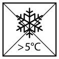 Краску необходимо защищать от мороза, хранить и транспортировать при t выше 5°C