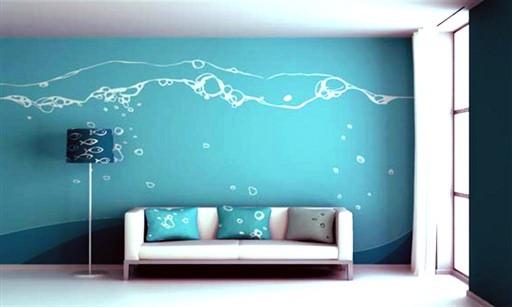 Дизайнерская окраска стен