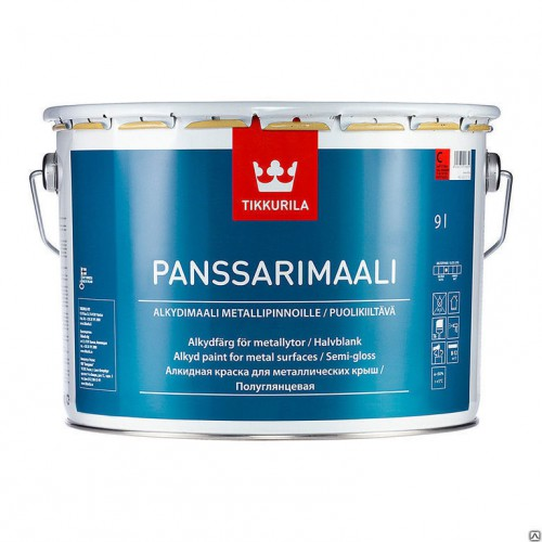 PANSSARIMAALI C п/глян. краска  9л