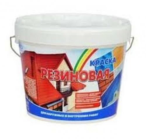 Краска резиновая шоколадная 10кг БС-98