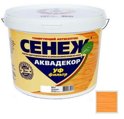 Сенеж АКВАДЕКОР Х2-104 (лиственница) 9кг