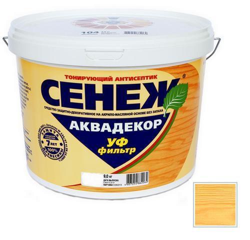 Сенеж АКВАДЕКОР Х2-103 (сосна) 9кг