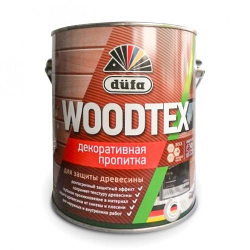 Пропитка WOODTEX для защиты древесины бесцв. (0,9л) Дюфа
