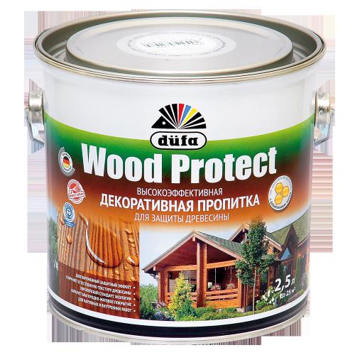 Пропитка Wood Protect для защиты древесины сосна (2,5л)