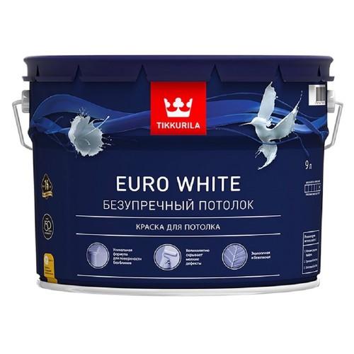 EURO White глубокоматовая белая 9л
