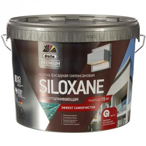 Краска фасадная силиконовая Дюфа премиум SILOXANE база 1 (10л)