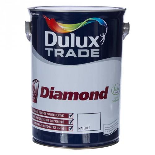 "Краска ""Dulux Trade Diamond Matt"" матовая  база BW  2,5л"