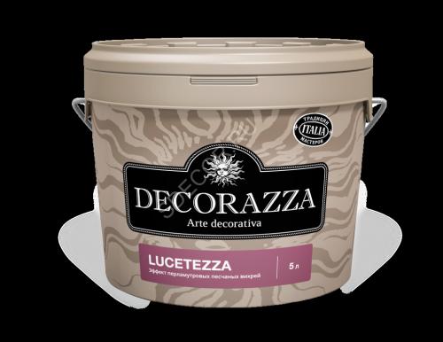 Декор. покрытие Decorazza Lucetezza Argento LC 5л