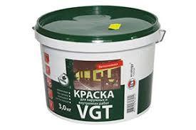 Краска ВД-АК-1180 для нар./внутр. работ моющаяся белоснежная 3,0 кг ВГТ