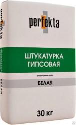 "Штукатурка гипсовая ""Гипстар"" белая МН, PERFEKTA  мешок 30кг"