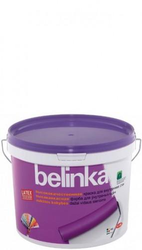 BELINKA LATEX B1 ВД Краска для внутр. стен и потолков матовая белая 10л