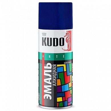 """Краска аэрозольная синяя 520мл """"KUDO"""" KU-1011"""