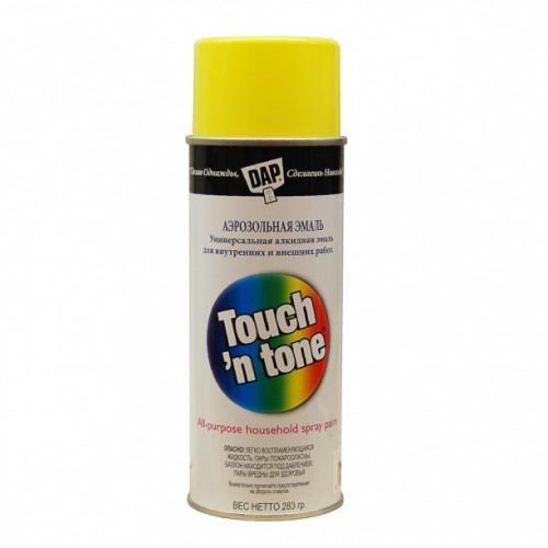 Краска аэрозольная Touch жел. 283г