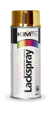 Краска аэрозольная KIM TEC латунь-медь 400мл