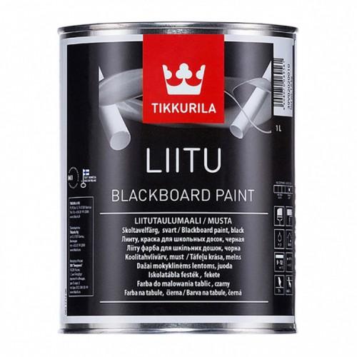 LIITU черная краска 1л