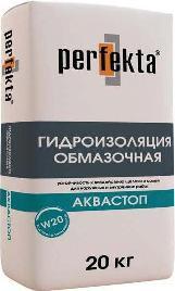 "PERFEKTA Гидроизоляция обмазочная ""АкваСтоп"", мешок 20кг"