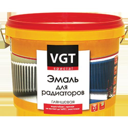 """Эмаль ВД-АК-1179 для радиаторов """"Профи"""" глянцевая, супербелая 2,5кг (фас. 6шт) ВГТ"""