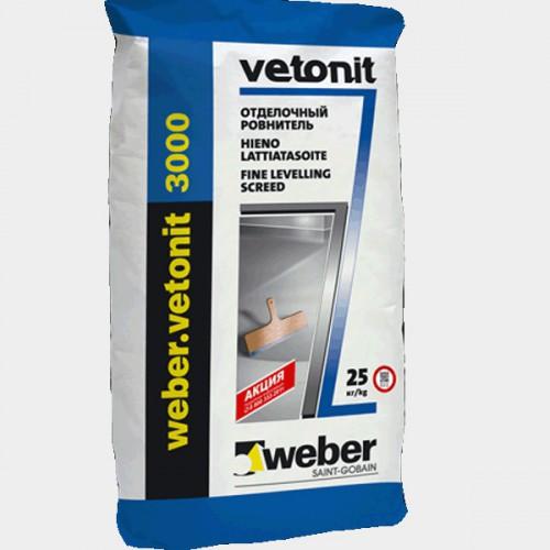 Пол WEBER.VETONIN 3000. 20 кг (54шт/под)