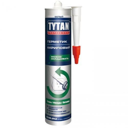 Tytan Professional герметик акриловый, белый (310мл)