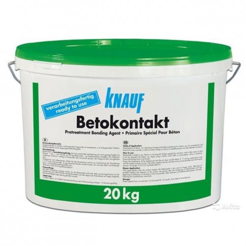 Бетоноконтакт 20 кг  Кнауф