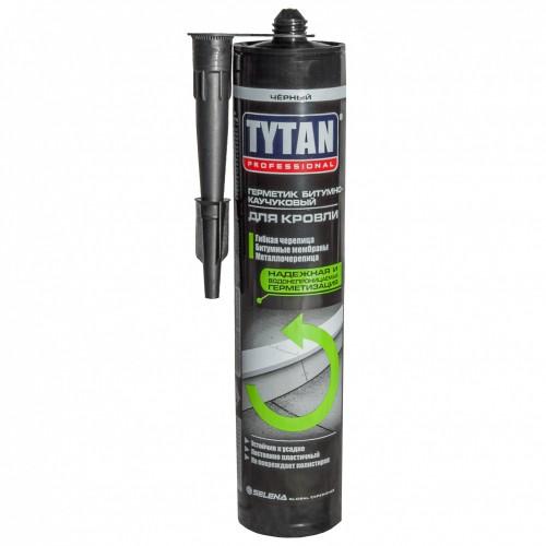 Tytan Professional герметик битумно-каучуковый для кровли черный (310мл)