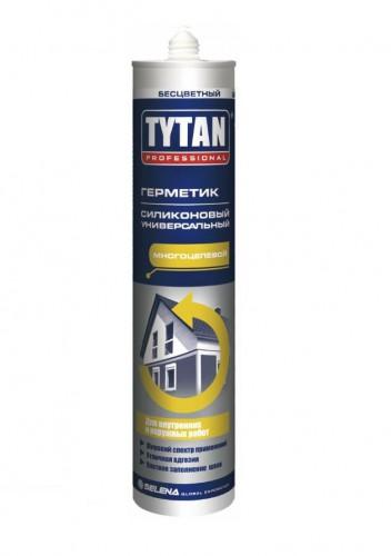 Tytan_Professional герметик силиконовый универсальный  бесцветный (310мл)