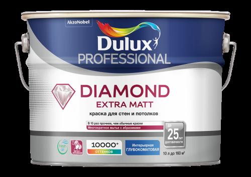 Diamond Extra Matt / Даймонд Экстра Мат - краска матовая износостойкая 10 л.