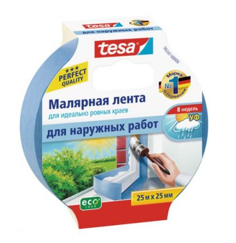 Лента малярная для наружных работ Tesa синяя 25 м*25 мм