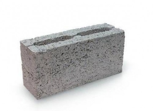 Блок керамзитный 100х200х400