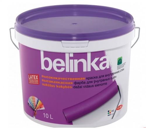 Belinka Latex B3 белая - Краска интерьерная  10 л