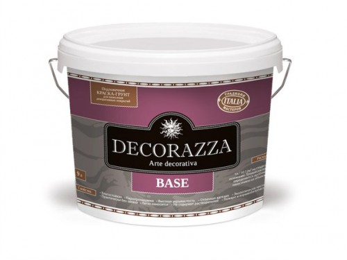 Грунт-краска Decorazza Base b1, 2,7л