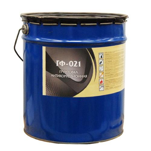 Грунт ГФ-021 кр. коричневая 20кг