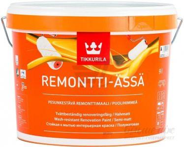 REMONTTI-ASSA A п/мат. краска  9л