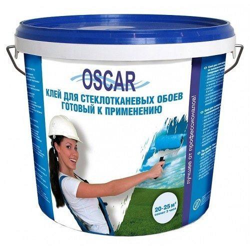 """Клей """"Oscar"""", 10кг, акриловый воднодисперсионный для стеклообоев, готовый у применению, GOs10"""