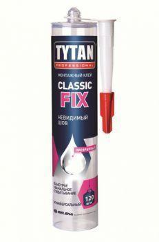Tytan Professional клей монтажный Classic Fix каучуковый прозрачный (310мл)