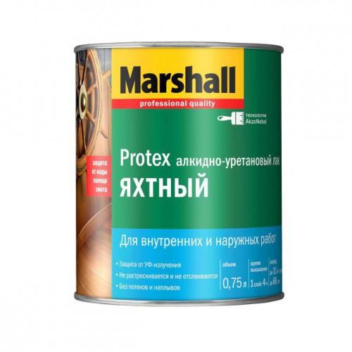 Лак для яхт полуматовый PROTEX (0,75л) Маршалл