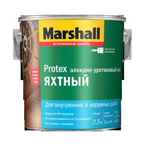 Лак для яхт глянцевый PROTEX (2,5л) Маршалл