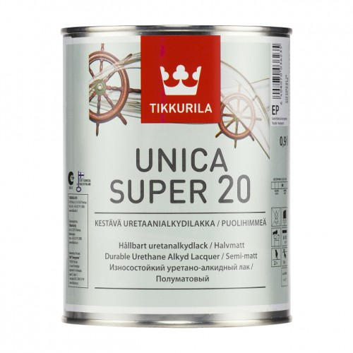 UNICA SUPER EP лак п/мат  0.9л