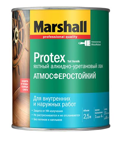 Лак для яхт полуматовый PROTEX (2,5л) Маршалл