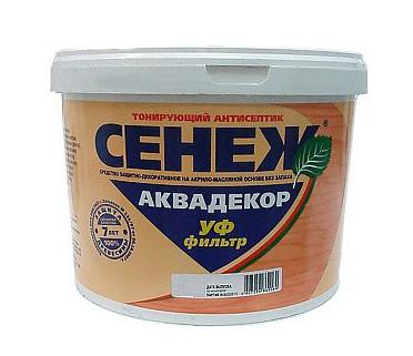 Сенеж АКВАДЕКОР Х2-109 (орех) 9кг