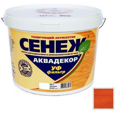 Сенеж АКВАДЕКОР Х2-107 (каштан) 9кг