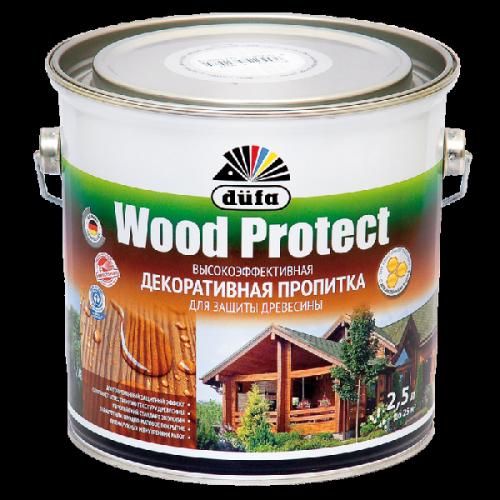 Пропитка Wood Protect для защиты древесины палисандр (2,5л)