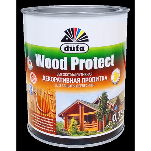 Пропитка Wood Protect для защиты древесины орех (0,75л)