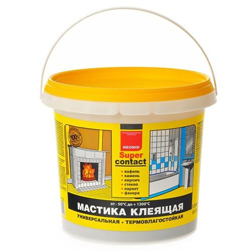 Неомид Мастика клеящая термостойкая универсальная (1,5кг)