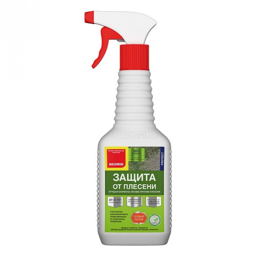 Неомид BiO РЕМОНТ (0,5л) концентрат- средство для защиты от плесени